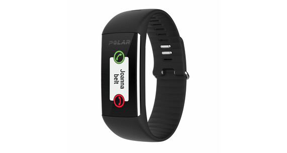 Polar A360 Pulsur L sort
